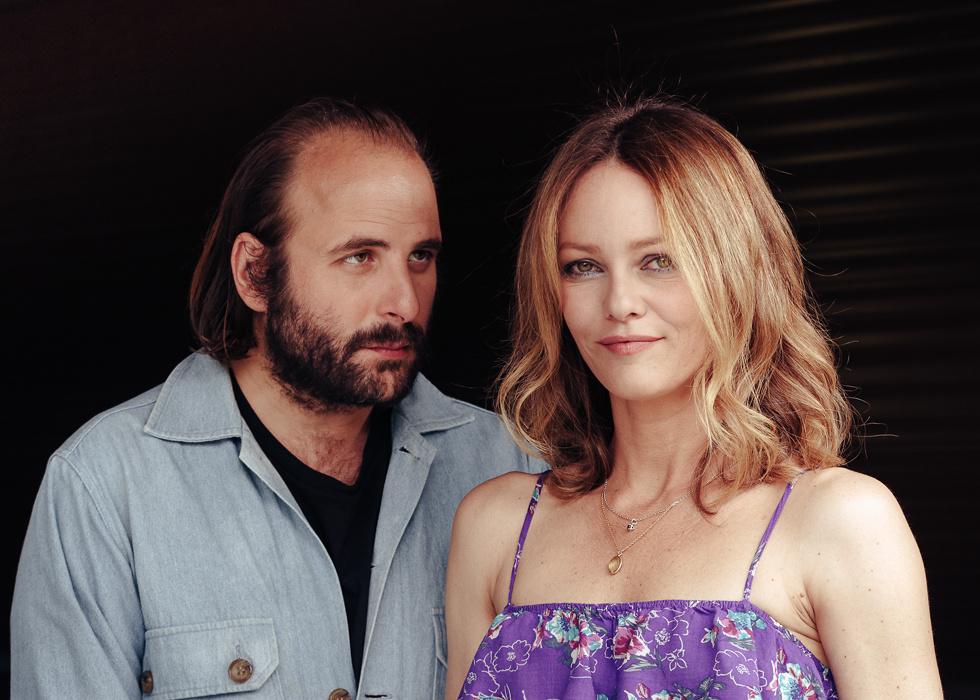 Vincent Macaigne and Vanessa Paradis, actors