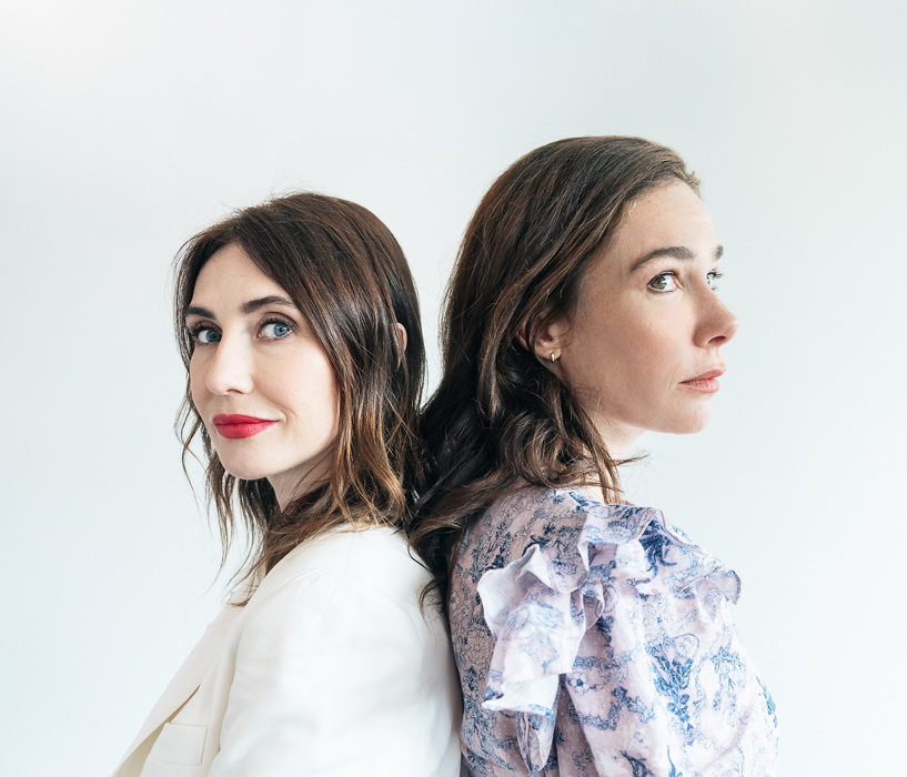 Carice van Houten & Halina Reijn, actress & director