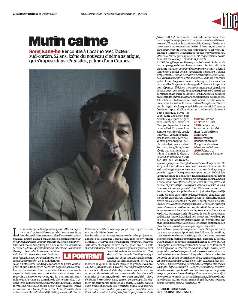 Libération | 18.10.2019