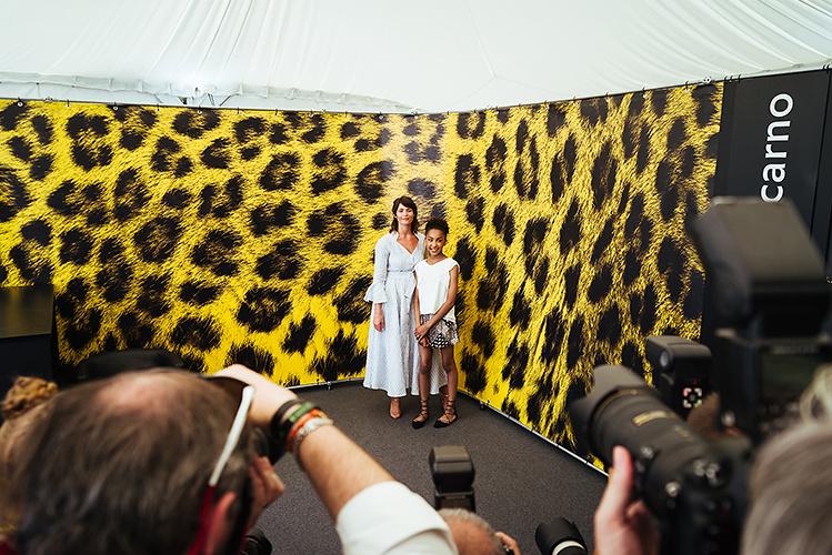 Gemma Arterton and Sennia Nanua, actresses